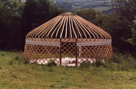 Yurt faq yurts typical yurts built in the eu on the top is a yurt in the style of the mongolian ger built by the yurt workshop in spain solutioingenieria Choice Image