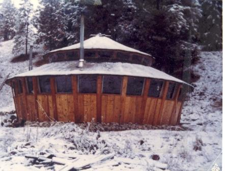 Bigwoodscabin blogspot on wood panel yurts