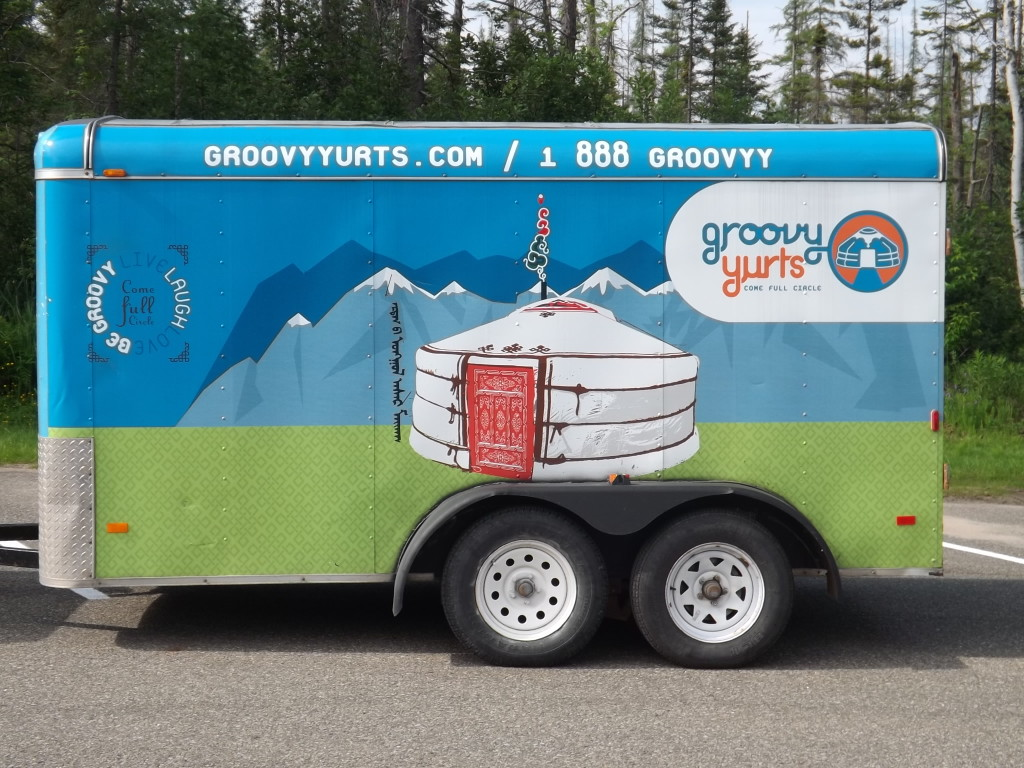 Groovy Yurts Trailer