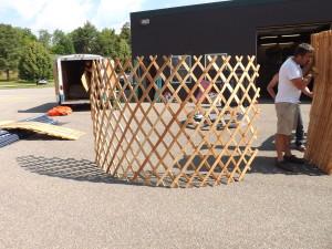 Yurt Lattice