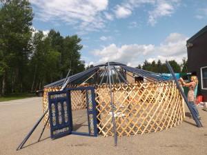 yurt rafters