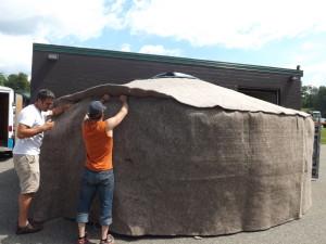 wool yurt insualtion