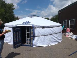 rope yurt