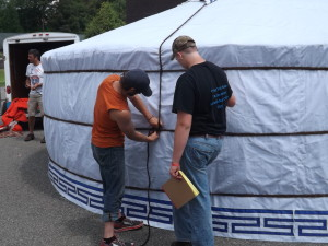Yurt Flap